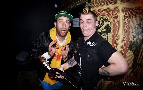 Alex with Matty roughneck riot
