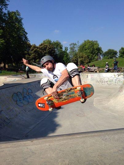 Alex Wonk skater dude