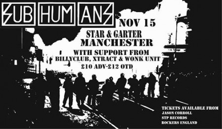 Subhumans and Wonk Unit