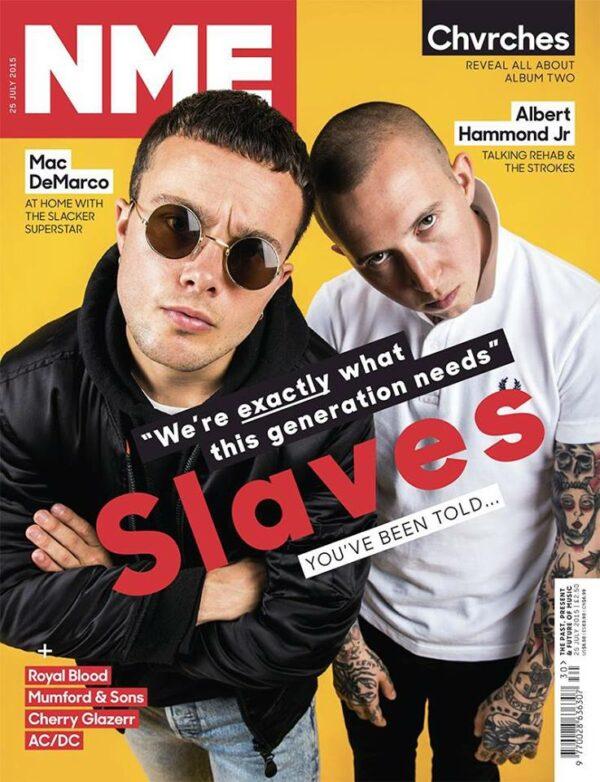Slaves on NME