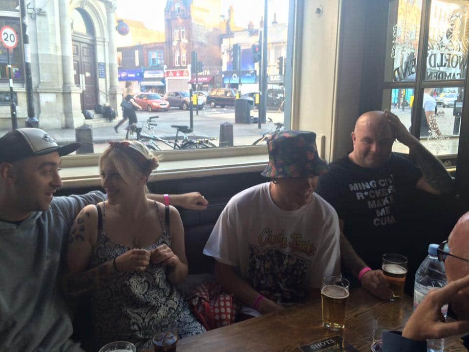 wonk in camden pub