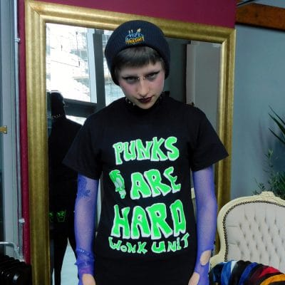 punks are hard tee