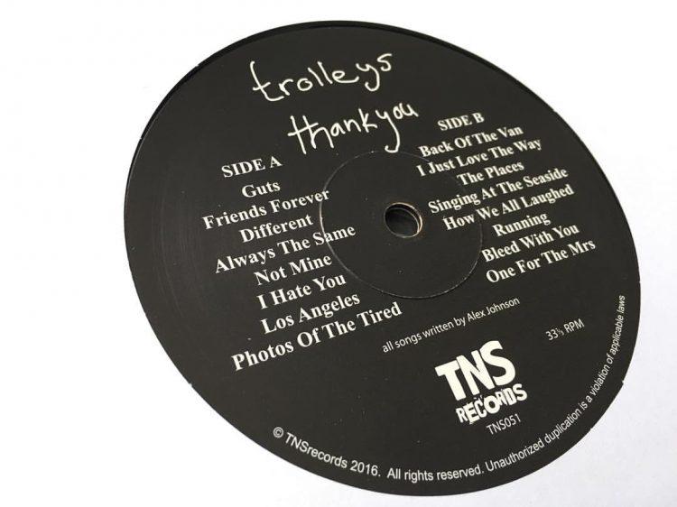 Trolleys thank you vinyl