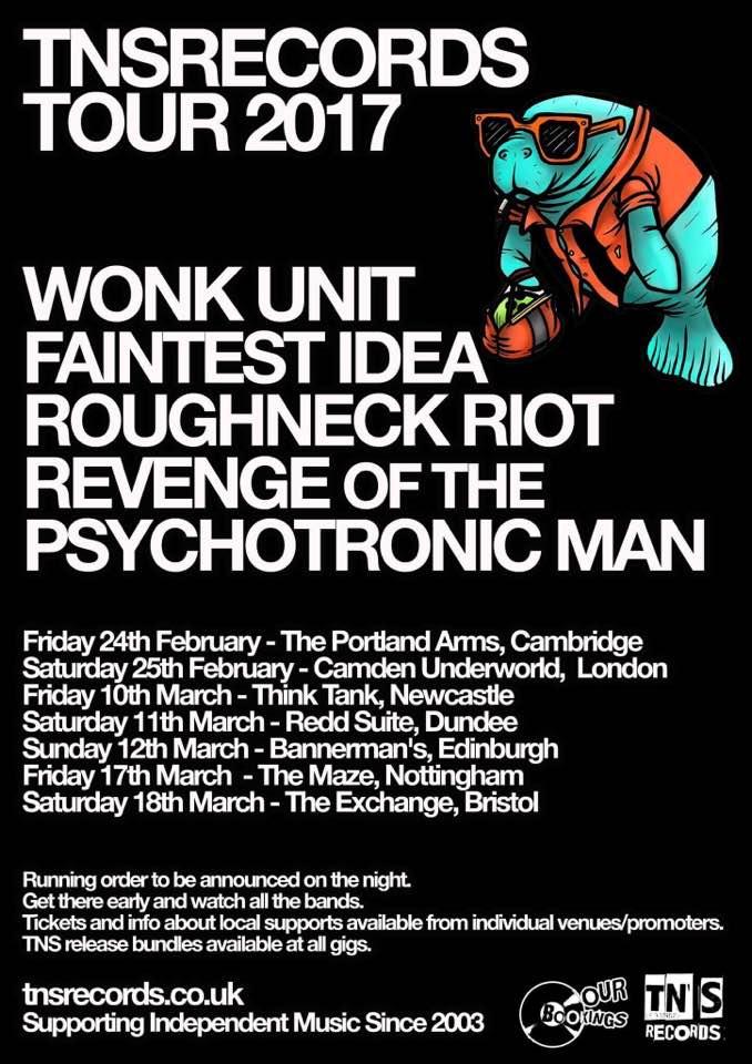 New TNS Tour in 2017 - Wonk Unit