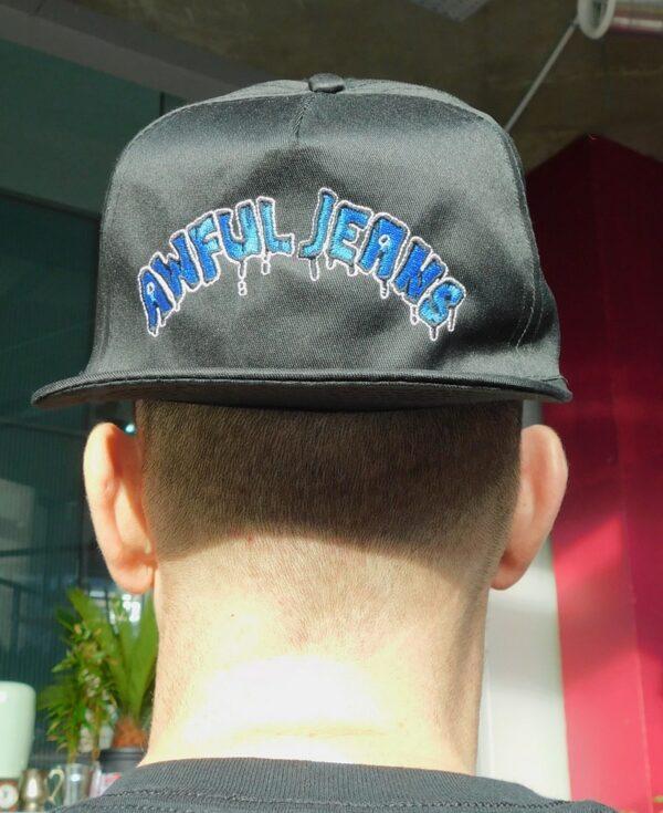 Awful Jeans black cap