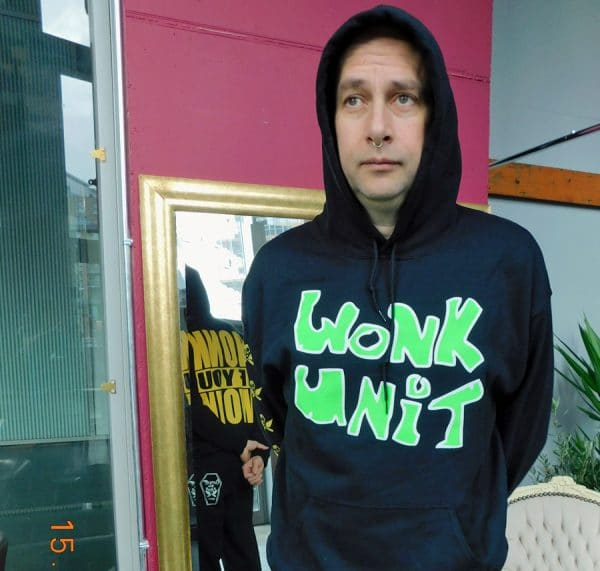 Honk Hoodie with Honk if you Wonk