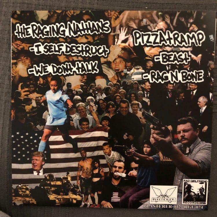 Raging Nathans - Pizzatramp split single