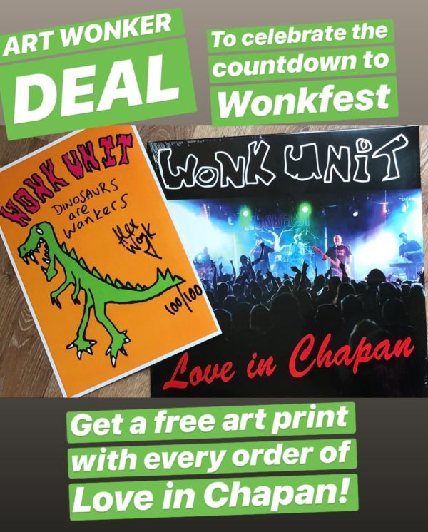 Wonkfest Art deal Love in Chapan